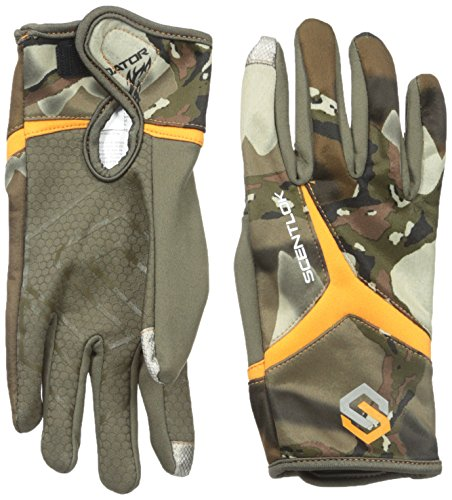 (ScentLok Men's Full Season Release Gloves, Predator Camo, Large )