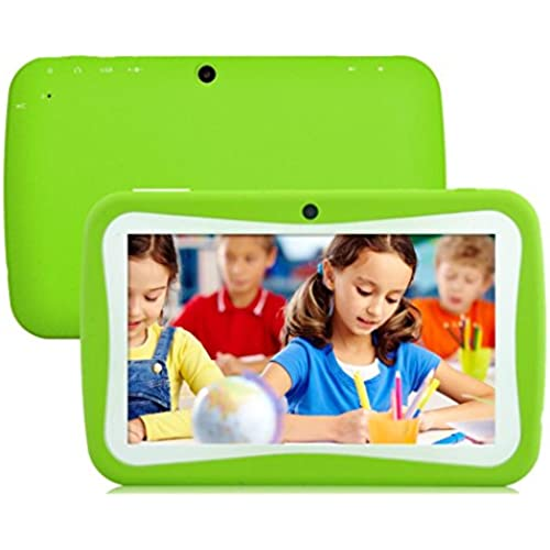 7 inch WIFI Tablet PC Android 4.4 KitKat Quad Core 8G Storage HD 1024 x 600 LCD Display Tablet for Kids Education Entertainment Coupons