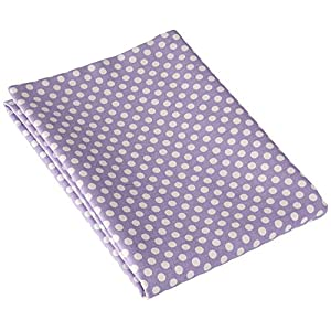 Sweet Potato Fiona Sham Micro Dot Pillow, Small, Purple/White