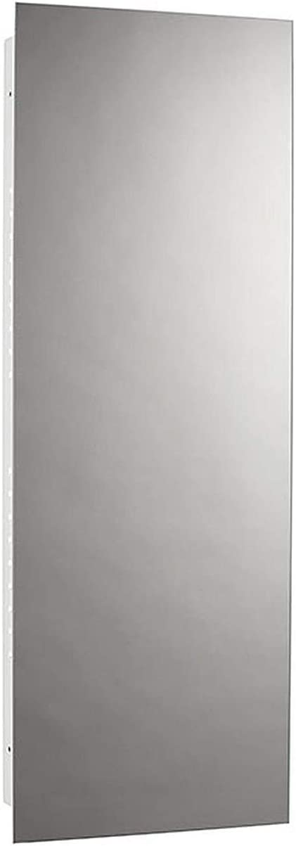 Jensen 639BC Illusion Narrow Body Medicine Cabinet with Polished Mirror, 13-Inch by 36-Inch