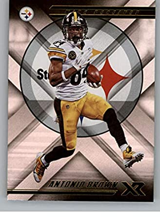 202cb999ce8 2018 Panini Xr Football  23 Antonio Brown Pittsburgh Steelers Official NFL  Trading Card