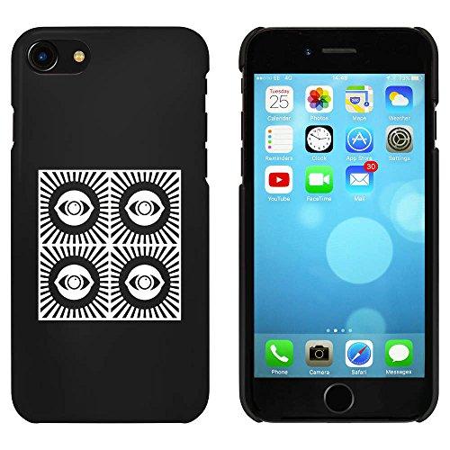 Noir 'Motif de l'Oeil' étui / housse pour iPhone 7 (MC00078597)