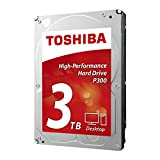 Toshiba P300 3TB Desktop 3.5 Inch SATA 6Gb/s 7200rpm Internal Hard Drive