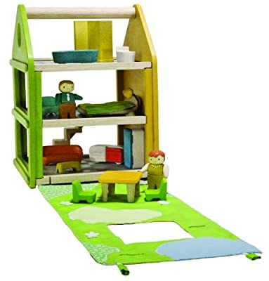 Plan Toys Tote And Go Rag Doll House from Plan Toys
