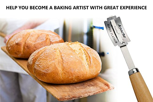 Hand Crafted Bread Lame with 5 Blades Included by Aeaker (Storage Box B)