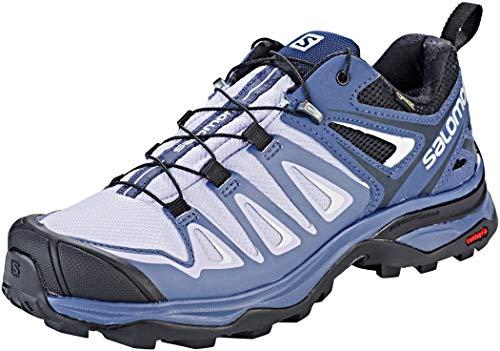 - Salomon Women's X Ultra 3 GTX W Hiking Shoe, Languid Lavender/Crown Blue/Navy Blazer