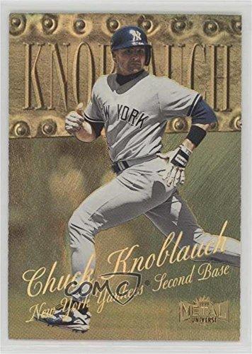 - Chuck Knoblauch #16/50 (Baseball Card) 1999 Skybox Metal Universe - [Base] - Precious Metal Gems #76