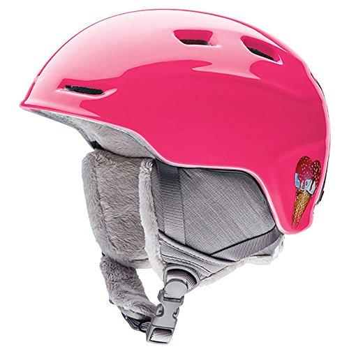Smith Optics Zoom Youth Junior Ski Snowmobile Helmet - Pink Sugarcone / Small (Ski Mobile)