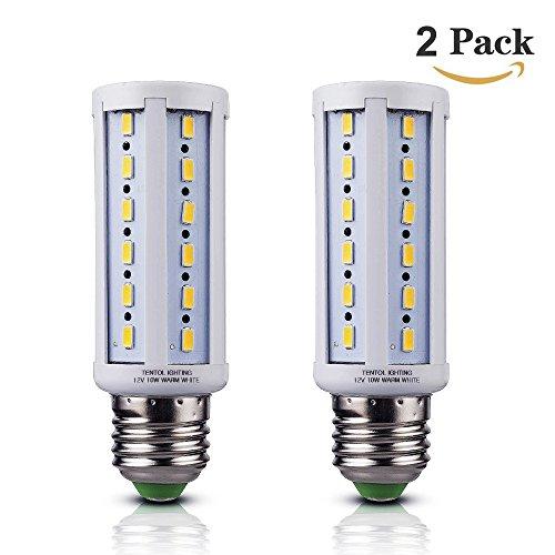 Tento Lighting 12v E26 Led Bulbs 10 Watts Low Voltage White Color Dc 12 Volt Edison Base Light