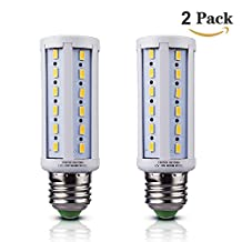 DC 12v - 24v LED Bulb E26 Medium Screw Base LED Light Bulb 10w LED E26 E27 Socket Soft Warm White 3000K 12V-20V Off Grid Solar Cabin RV Trailer Van Camping Power Out Emergency Battery Lighting System