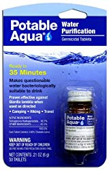 Potable Aqua Water Treatment Tablets-100 Count Size from Potable Aqua