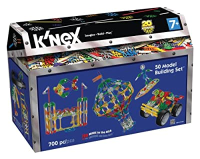 K'NEX®, Classics 50 Ideas Building Set, 700 pcs - Item #12211/71941