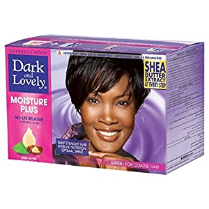 SoftSheen-Carson Dark and Lovely Moisture Plus No Lye Relaxer, Super