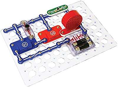 Snap Circuits® Jr. SC-100 Electronics Discovery Kit, 30 pcs, Item #SC-100B