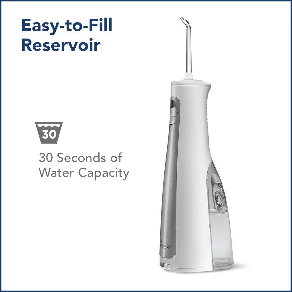 Waterpik Cordless Freedom Water Flosser, WF-03, White by Waterpik (Image #7)