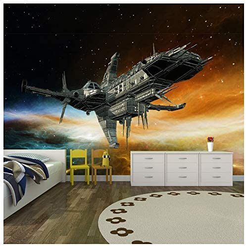 azutura Nave Espacial alienígena Fotomurales Planetas y ...