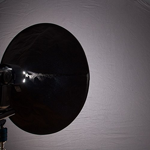 RoundFlash Beauty Dish Collapsible Softbox for Nikon, Canon, Sony, Pentax, Olympus, Panasonic Lumix, Neewer, Yongnuo External On-Camera Shoe-Mounted Flash Units by RoundFlash (Image #6)