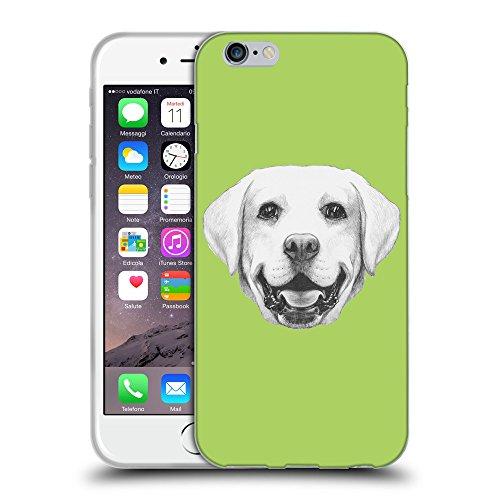"GoGoMobile Coque de Protection TPU Silicone Case pour // Q05370628 Portrait labrador Inchworm // Apple iPhone 6 4.7"""