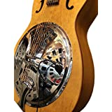 """THE FEATHER"" DOBRO SQUARE NECK RESONATOR GUITAR PICKUP with FLEXIBLE MICRO-GOOSE NECK by Myers Pickups ~ See it in ACTION! Copy and paste: myerspickups.com"