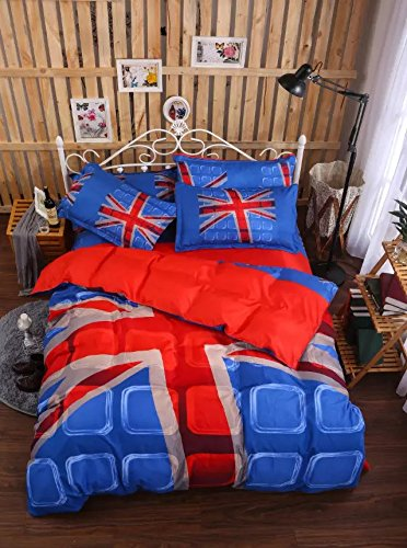 Bed Sheets Set, Wrinkle & Fade Resistant, Sheet & Pillow Case Set,H King B072N35P84 Bettzubehr