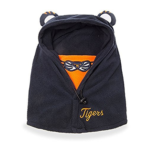 TanQiang Cute Lovely Character Hooded Cap Baby Winter Hats for Kids 4~12 Years Old Masked Hood Cap (Navy)
