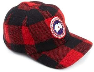 Canada Goose Men's Merino Ball Cap,Buffalo Plaid,One Size