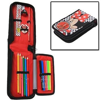 Amazon.com: Disney Minnie Mouse Estuche de lápices caso Fold ...