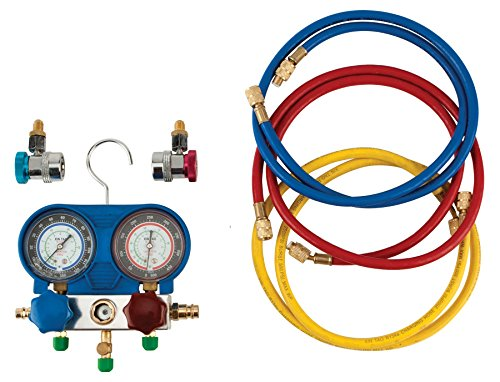 Performance Tool W89730 A/C Manifold Test Gauge Kit by Performance Tool (Image #1)