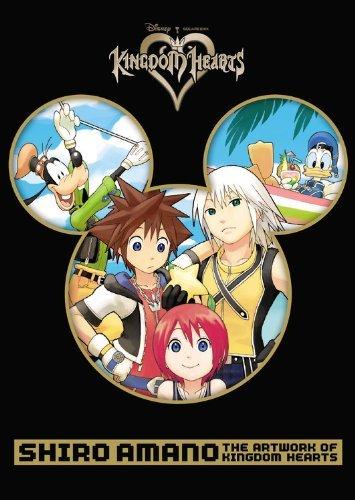 Shiro Amano: The Artwork of Kingdom Hearts by Shiro Amano (Illustrator) (29-Oct-2013) Paperback