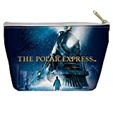 Polar Express Poster Accessory Pouch White 8.5X6
