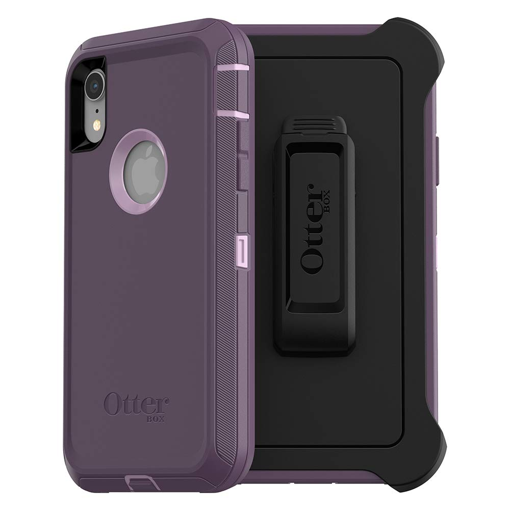 Funda Otterbox Defender Screenless iPhone Xr Purple Nebula W