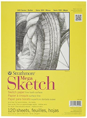 Strathmore Mega Sketch Paper Sheets product image