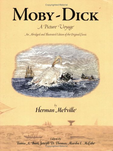 Moby Dick Picture Abridged Illustrated Original