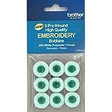 Brother Pre-Wound Embroidery Bobbins #90 White PWB350