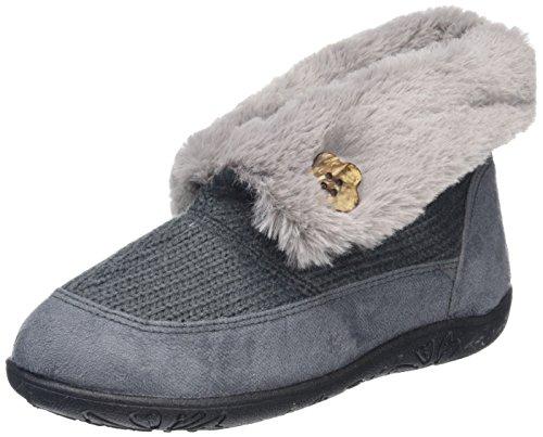 Eden Donna A Padders Collo Alto grey Pantofole Grey TfX1Xd