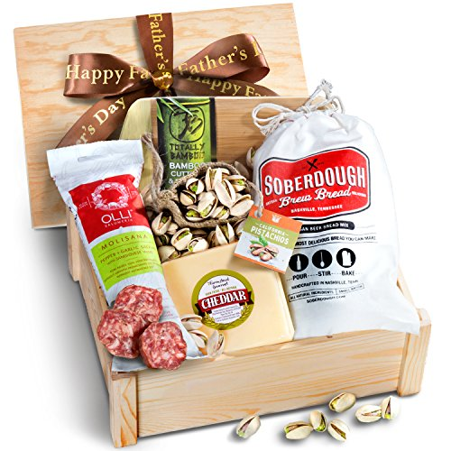 Golden State Fruit Father's Day Meat & Cheese Box