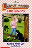 Best Scholastic And Worsts - Karen's Worst Day (Baby-Sitters Little Sister, No. 3) Review