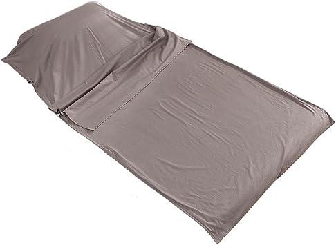 OUTRY Sábana para saco de dormir 100% algodón, diseño de hojas ...