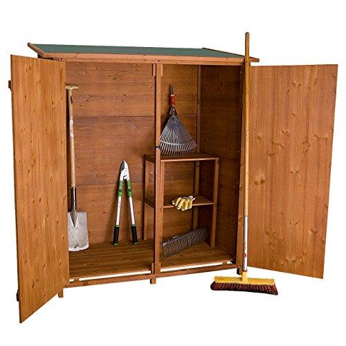 Rotfuchs® Geräteschuppen Gerätehaus Geräteschrank Holz XXL GTS02