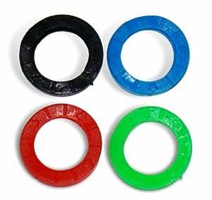Interfer - Anilla marcar llaves redonda bolsa 200pzs