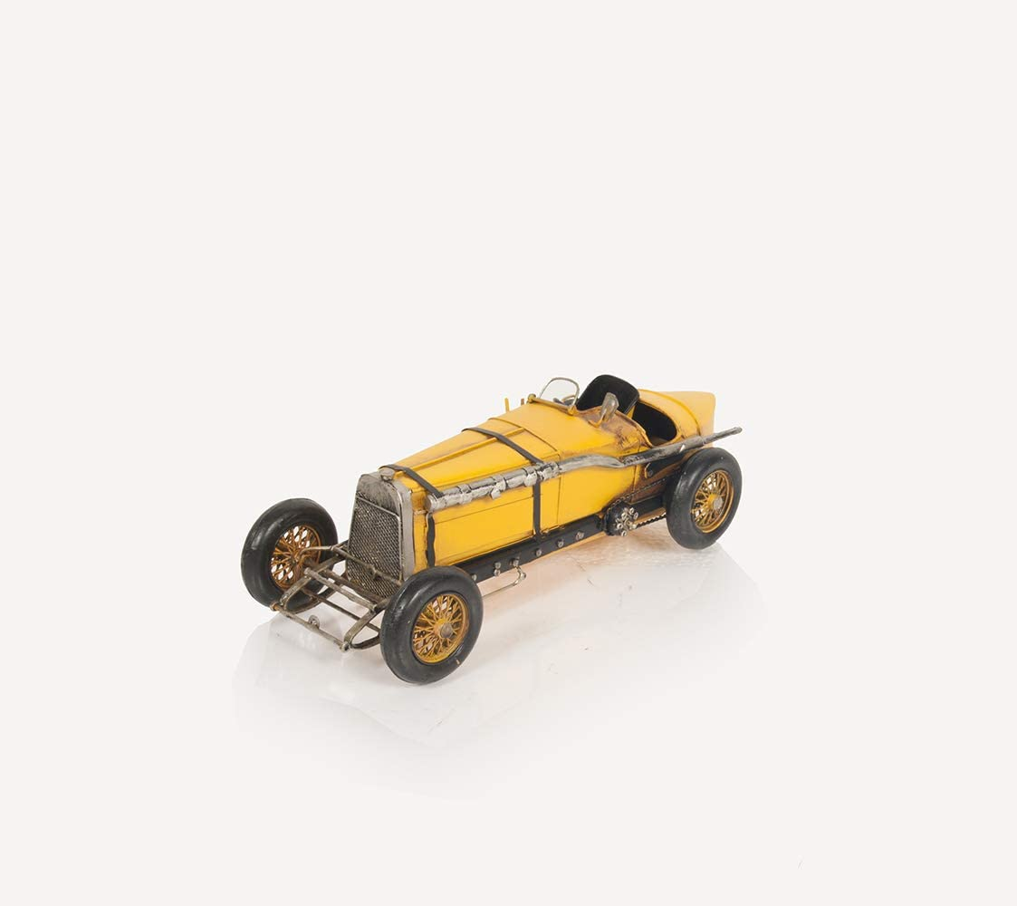 Old Modern Handicrafts Alfa Romeo P2 Classic Racing Car Model, One Size, Multi