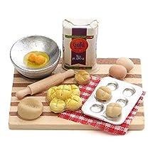 1/12 Scale Dollhouse Miniature Kitchen Accessories Food Furniture