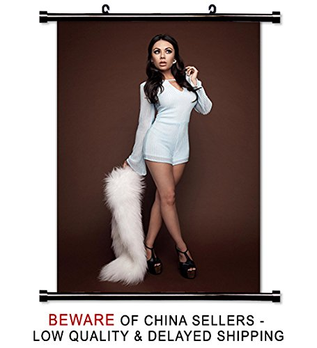 Janel Parrish actress Fabric Wall Scroll Poster (32x48) Inches