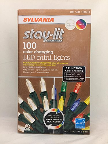 Sylvania Led Christmas Tree Lights