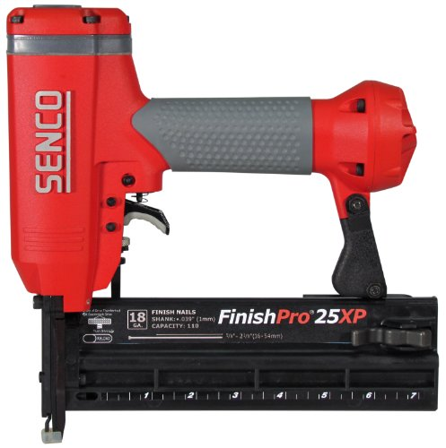 Brad Angle Nailer (Senco FinishPro 25XP 5/8-Inch to 2-1/8-Inch 18 Gauge Brad Nailer with Case)