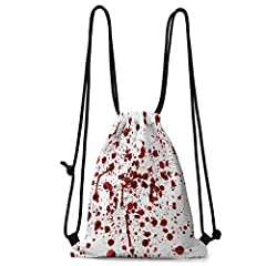"""All Over Printed PolyesterThe Size of the Bundle Pocket: The drawstring bag is about 36 cm / 14.1 inches wide and about 43cm / 16.9 inches long . It is suitable for most adults and children, and can also carry a lot of items.Lightweight and ..."