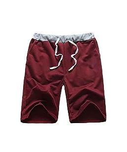 Republe Hommes Shorts String Plage Corde Respirant Cinq Pantalons Courts de Refroidissement Pantalons