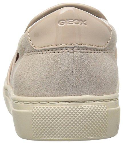 Geox Ginnastica B Skinc8182 Basse Scarpe Beige Donna da Trysure D rqBpr6