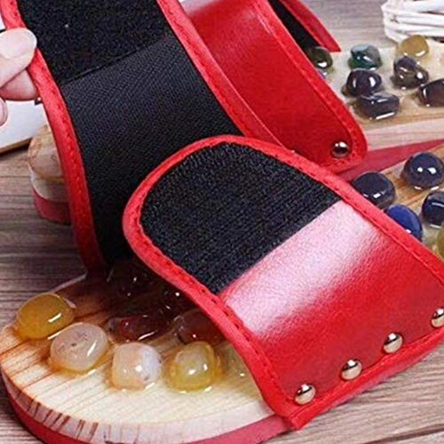 Piede Ciottoli Pantofole Acupi Rosso S Fisica Ciottoli Naturali Casa Massaggio Scarpe Comode xxl S Terapia Sanitaria Per La Assistenza Del Di Da Relax wtfSxnxqIv