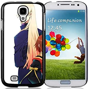 Popular And Unique Designed Cover Case For Samsung Galaxy S4 I9500 i337 M919 i545 r970 l720 With Anime Boy Girl High Low Glasses Grimmasa black Phone Case BY icecream design